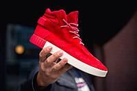 Мужские кроссовки Adidas Tubular Invader Red/Vintage, красные. Размеры (41,44,45), фото 1