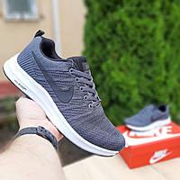 Мужские кроссовки Nike Zoom серые. Размеры (41,42,43,44,45,46), фото 1