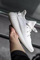 Кроссовки мужские Adidas Yeezy Boost 350  V2 White, фото 1