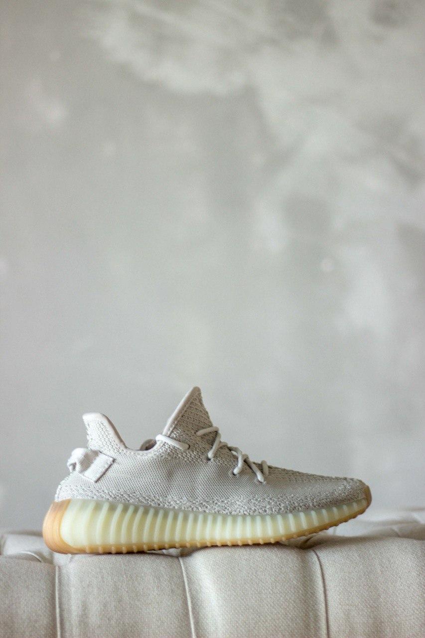 Кроссовки мужские Adidas Yeezy Boost 350 Sesame (адидас изи буст сесаме)