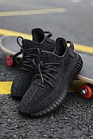 Кроссовки мужские Adidas Yeezy Boost 350 V2 Black Reflective, фото 1