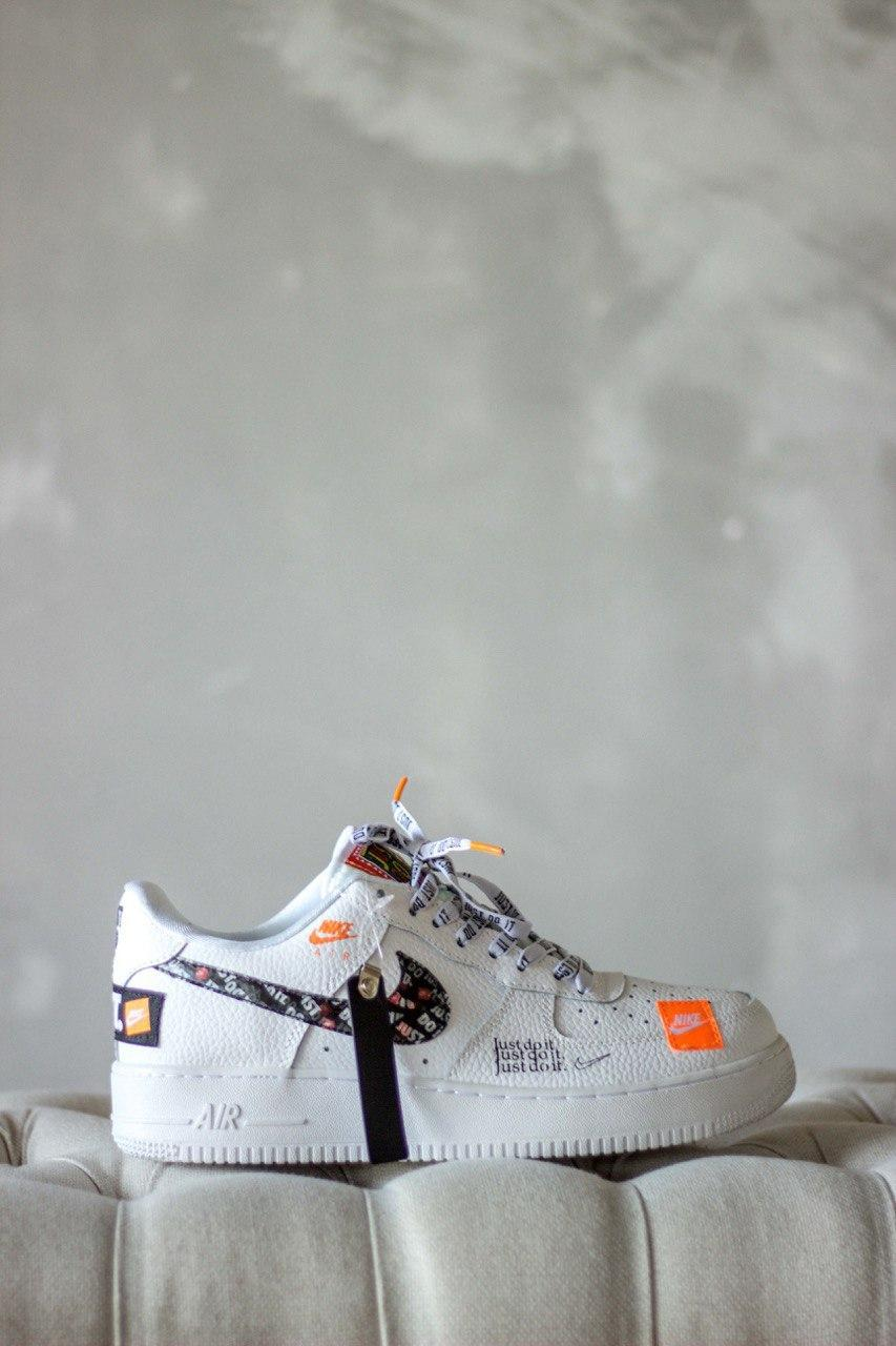 """Кроссовки Nike Air Force 1 Low """"Just Do It"""" White"""