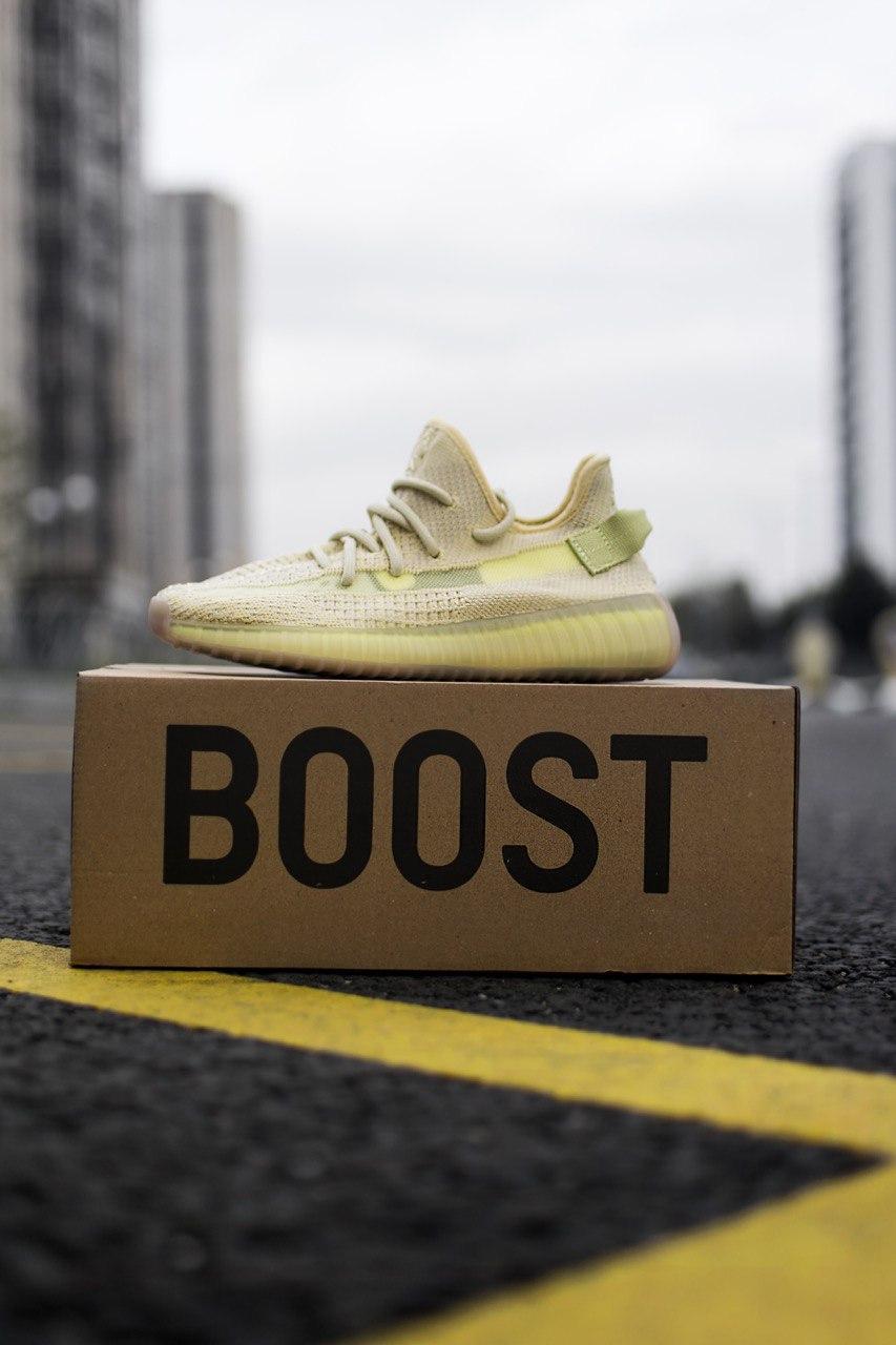 Кросівки жіночі Adidas Yeezy Boost 350 Flax (адідас ізі буст флекс)