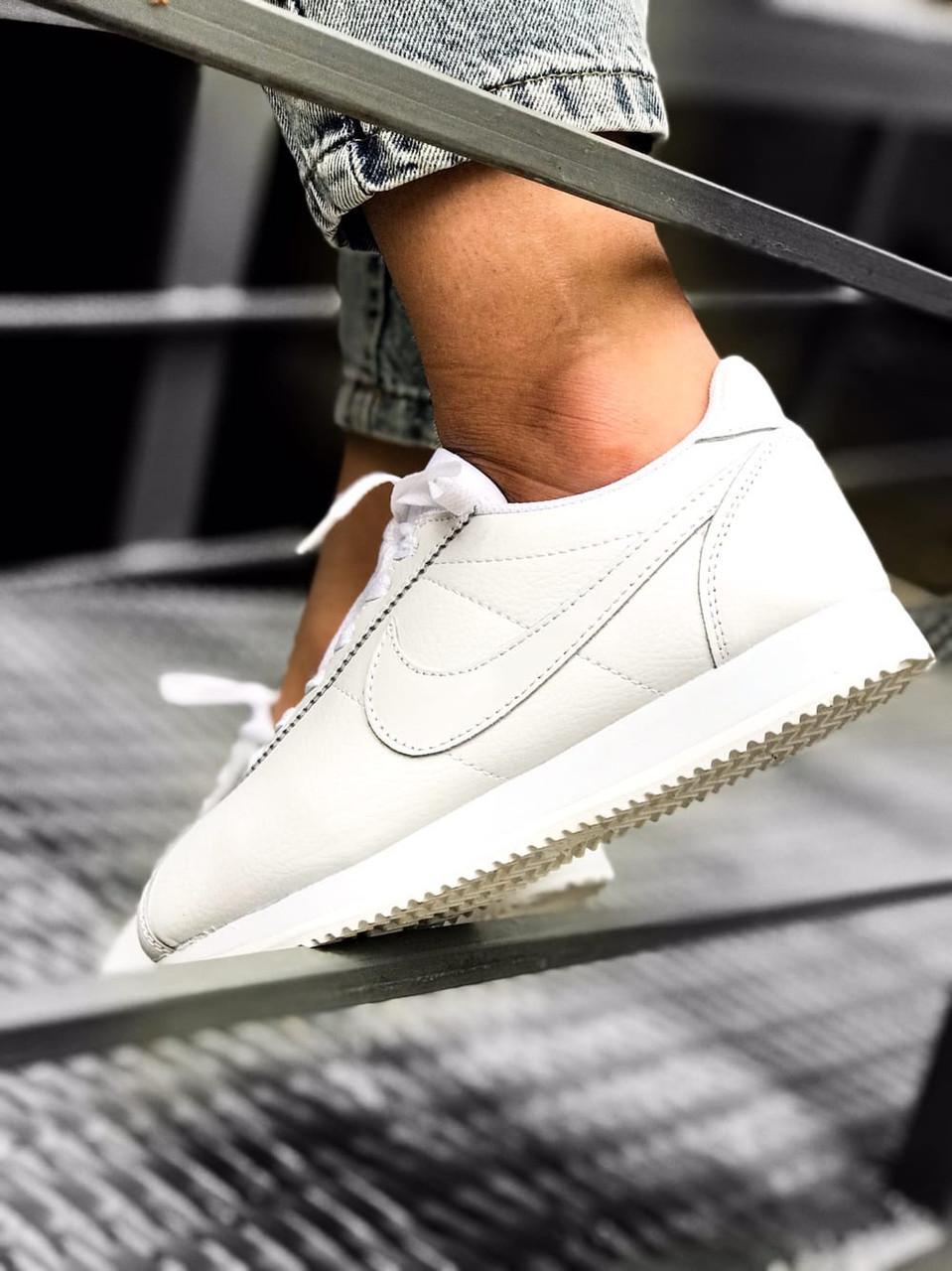 Кроссовки женские Nike Cortez белые White