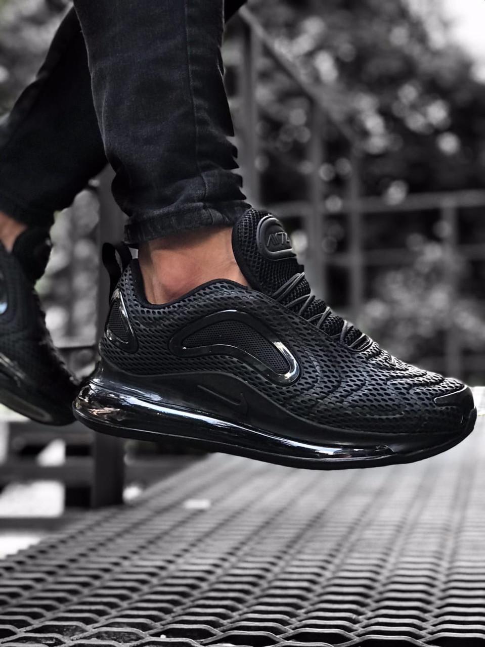 Кроссовки мужские Nike Air Max 720 Black Черные