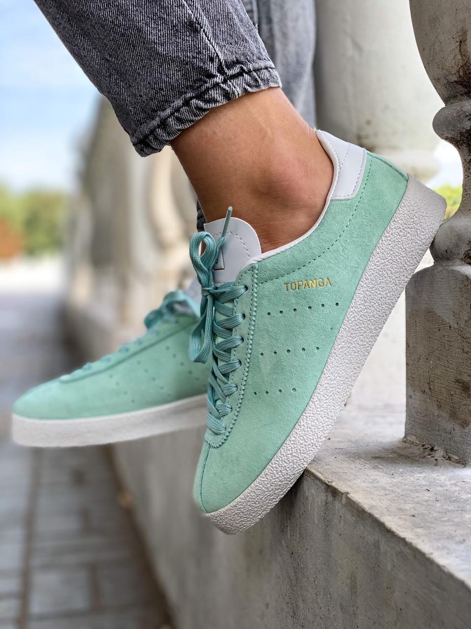 Кроссовки женские Adidas Topanga Mint мятные