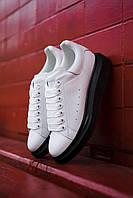 Кроссовки женские Alexander McQueen White/Black, фото 1
