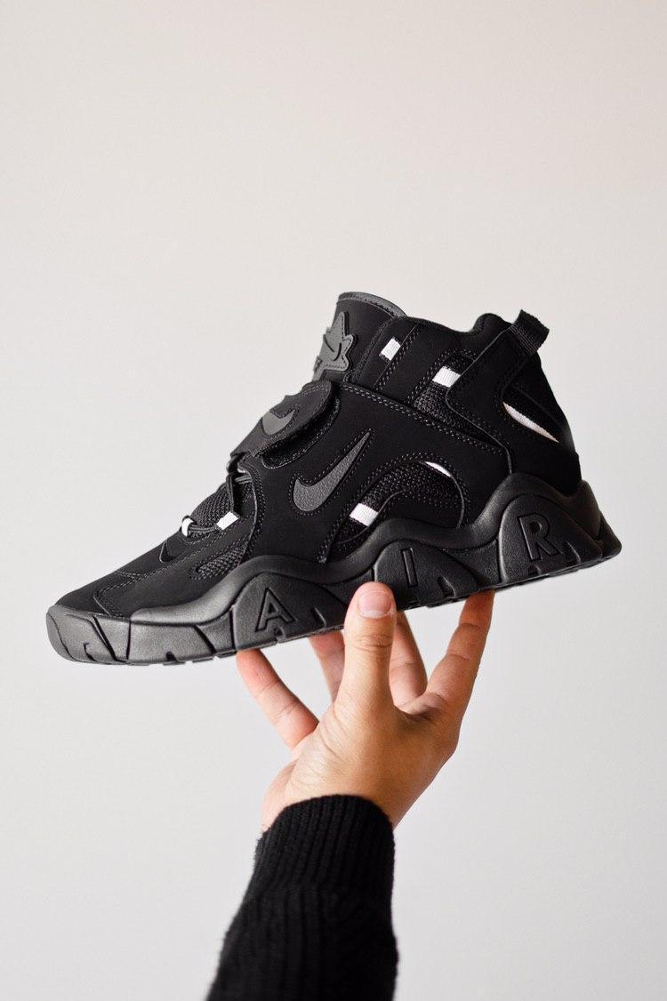Кроссовки мужские Nike Air Barrage Black (найк аир бараж)