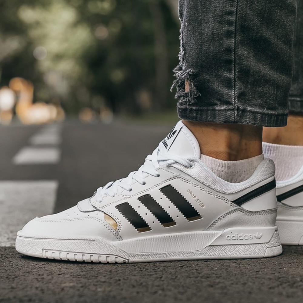 Кроссовки мужские Adidas Drop Step White