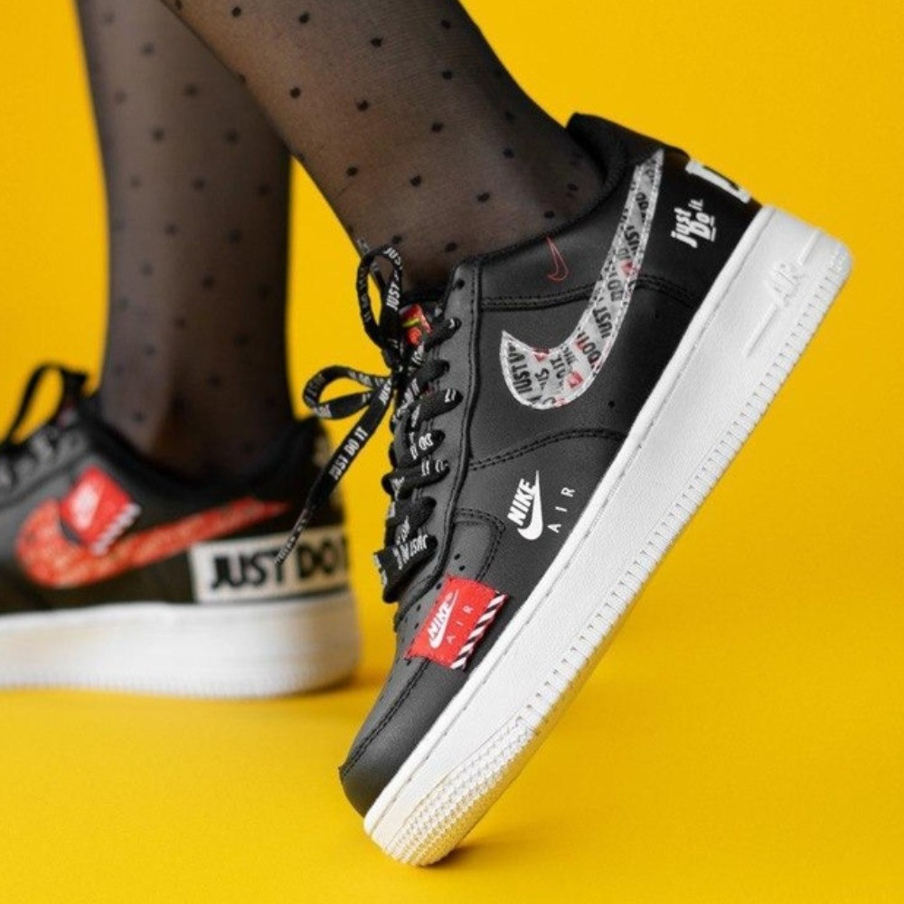 Кроссовки Nike Air Force 1 Low Just Do It Black