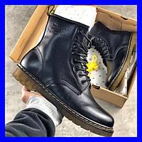 Ботинки мужские Dr. Martens 1460 Black 37-45, фото 1