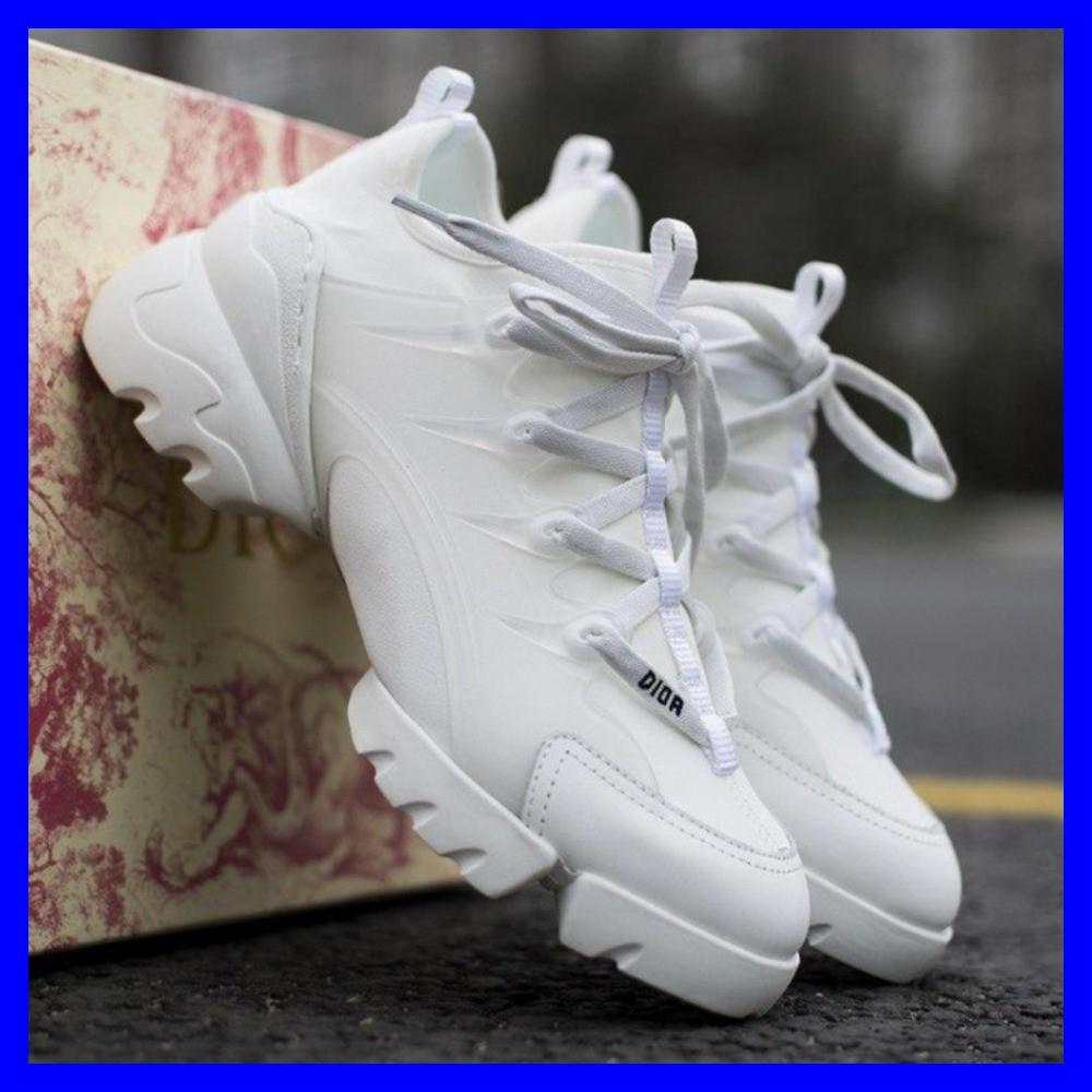 Кроссовки женские Dior D-Connect White