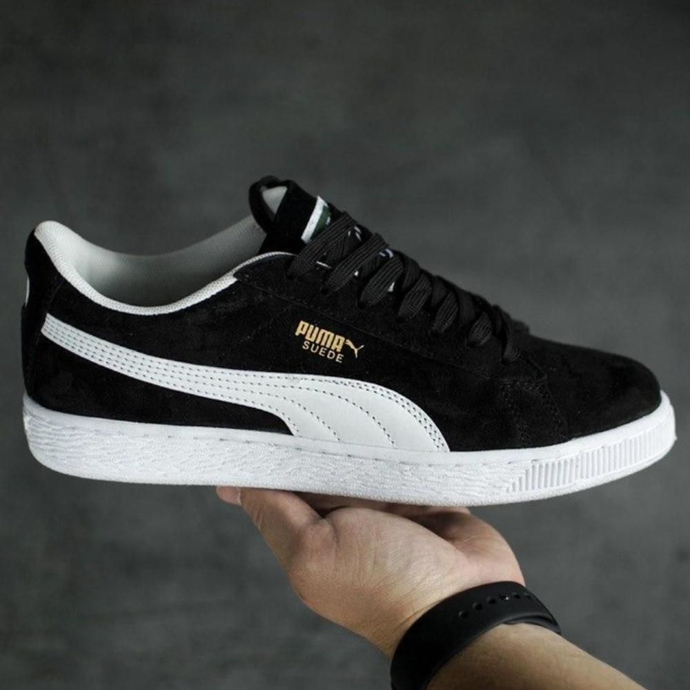 Кроссовки кеды Puma Suede Black