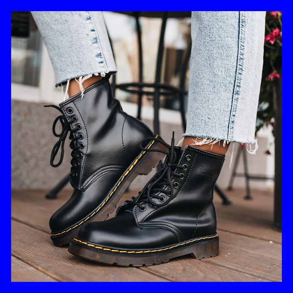 Женские ботинки Dr. Martens 1460 Black 37-44
