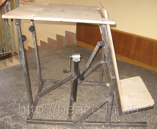 Приспособления для инвалидов. Вертикализатор ортопедический с домкратом ВО-2, реабилитация