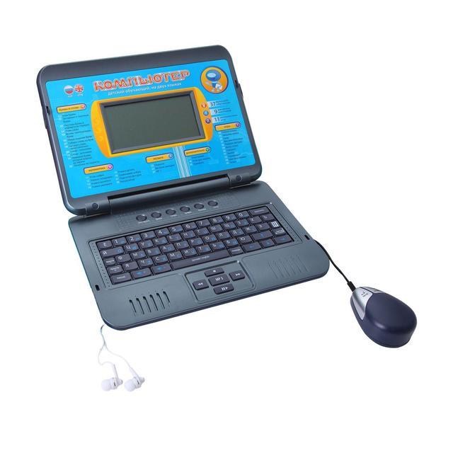 Детский ноутбук 7072 на двух языках
