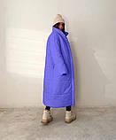 Куртка пальто женское длинное тёплое зимнее, фото 4