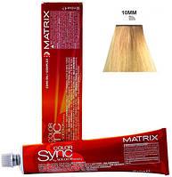 10MM безаммиачная крем-краска для волос - очень-очень светлый блондин Мокка Мокка (Color Sync), 90 мл