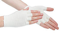 Подперчатки EASY от HANDYboo размер S 1 пара Белые (MAS40024)