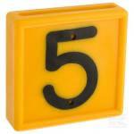 """Цифра для идентификационного ошейника, """"5"""""""