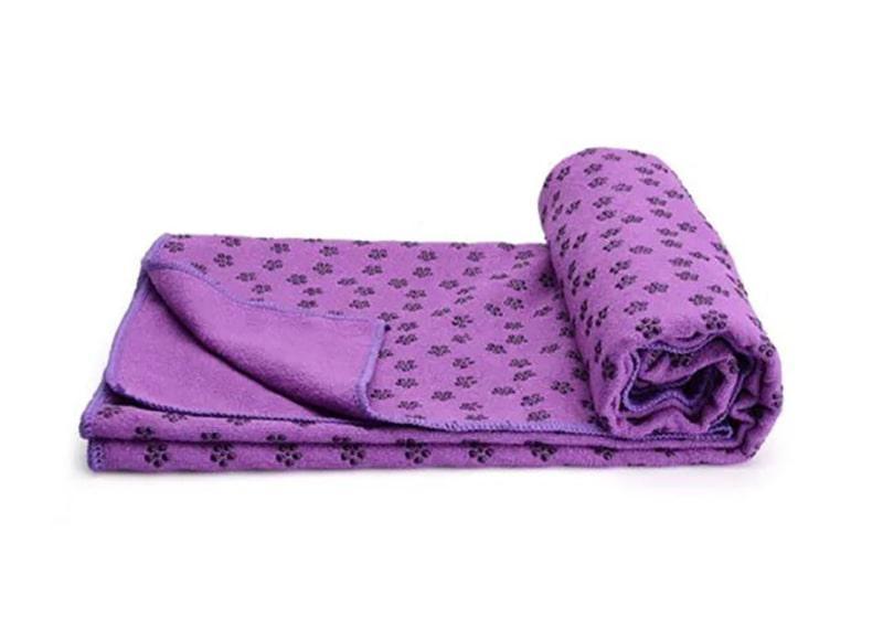 Коврик-полотенце из микрофибры 183x62x0.3 см Фиолетовый (16776-1)