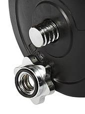 Гантели WCG 2х13 кг с металлическим грифом Черные (310.002.002), фото 2