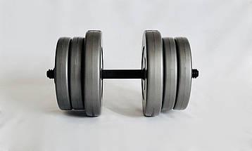 Гантели WCG 2х20 кг Серые (310.001.006), фото 2