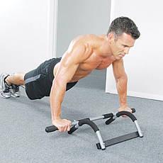 Турник тренажер Iron Gym Черно-серый (B036), фото 2