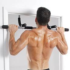 Турник тренажер Iron Gym Черно-серый (B036), фото 3