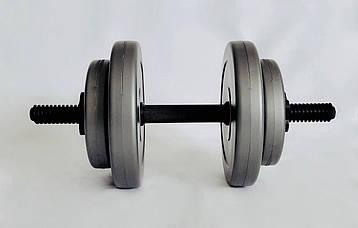Гантели WCG 2х8 кг Серые (310.001.001), фото 2