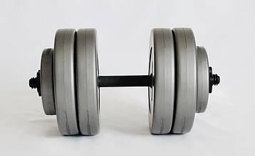 Гантели WCG 2х13 кг Серые (310.001.003), фото 2