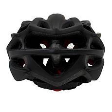 Шлем велосипедный Helmet 002 Черный (4977-14165), фото 2