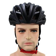 Шлем велосипедный Helmet 002 Черный (4977-14165), фото 3