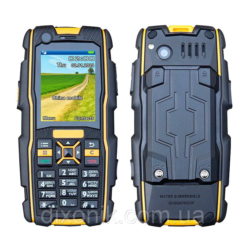 Мобильный телефон H-Mobile MTT black-yellow