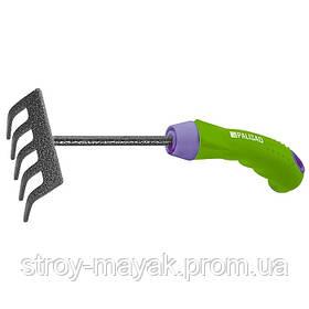 Грабли 5-зубе, 90 мм, защитное покрытие, прорезиненная эргономичная ручка PALISAD