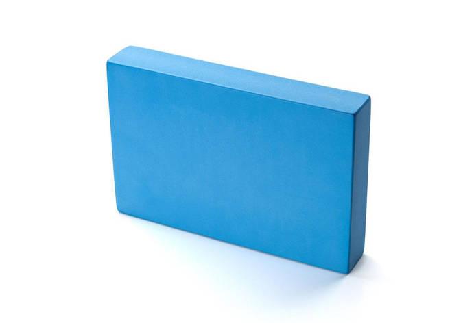 Блок для йоги Kurma Flat Синий (18945), фото 2