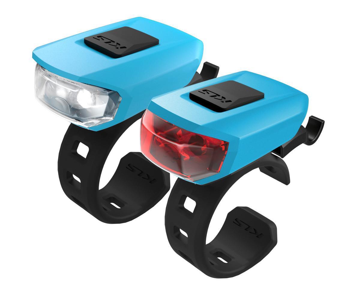 Комплект мигалок KLS VEGA USB Blue (8585019396099)