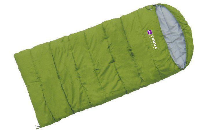Спальник Terra Incognita Asleep JR 300 R правий Зелений (TI-03583)