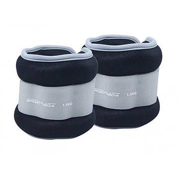 Утяжелители для ног и рук SportVida 2 x 1.5 кг SV-HK0035, фото 2
