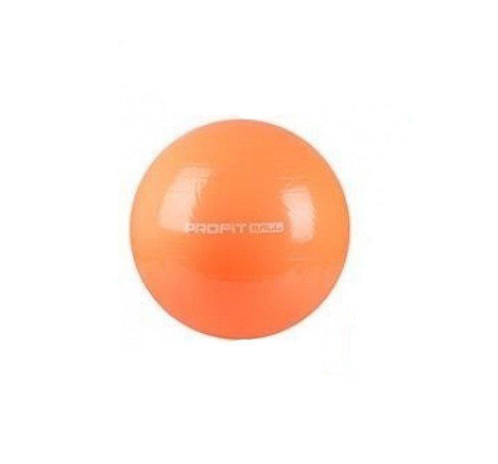 Фитбол мяч для фитнеса Profit 75 см MS 0383 Оранжевый (nk6289hh)