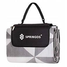 Коврик для пикника и кемпинга складной Springos 220 x 180 см PM010, фото 2
