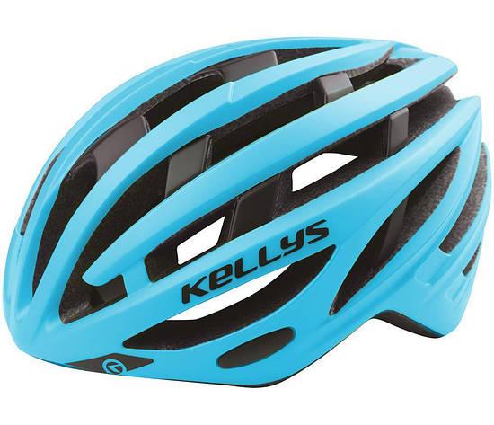 Шолом велосипедний KLS SPURT M-L Blue, фото 2