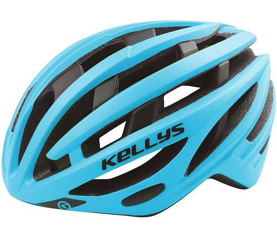 Шолом велосипедний KLS SPURT S-M Blue, фото 2