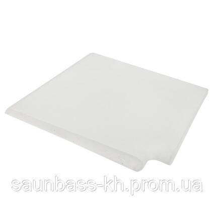 Копінговий камінь кутовий Aquazone 400x500x50-25 мм, білий