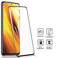 Защитное стекло для Xiaomi Mi 10T Lite черный, фото 1