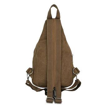 Рюкзак холщовый HikeUp Canto Коричневый (20929), фото 2