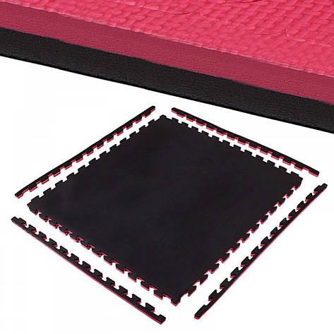 Мат-пазл (ласточкин хвост) Springos Mat  100 x 100 x 2 cм, фото 2