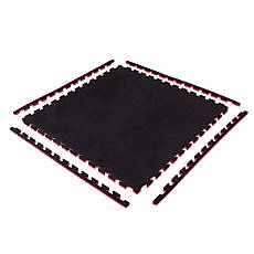 Мат-пазл (ласточкин хвост) Springos Mat  100 x 100 x 2 cм, фото 3