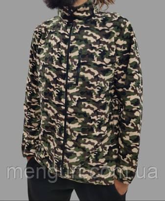 Флисовая кофта мужская камуфляж, фото 2