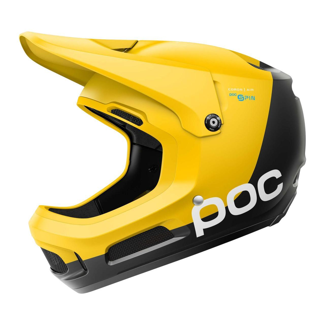 Шолом велосипедний POC Coron Air Spin XL/XXL 59-62 Sulphite Yellow (PC 106631311XLX1)